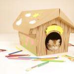 Мастер-класс по изготовлению домика для кошки