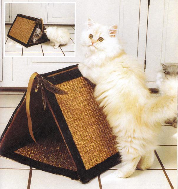 Палатка для кошек своими руками