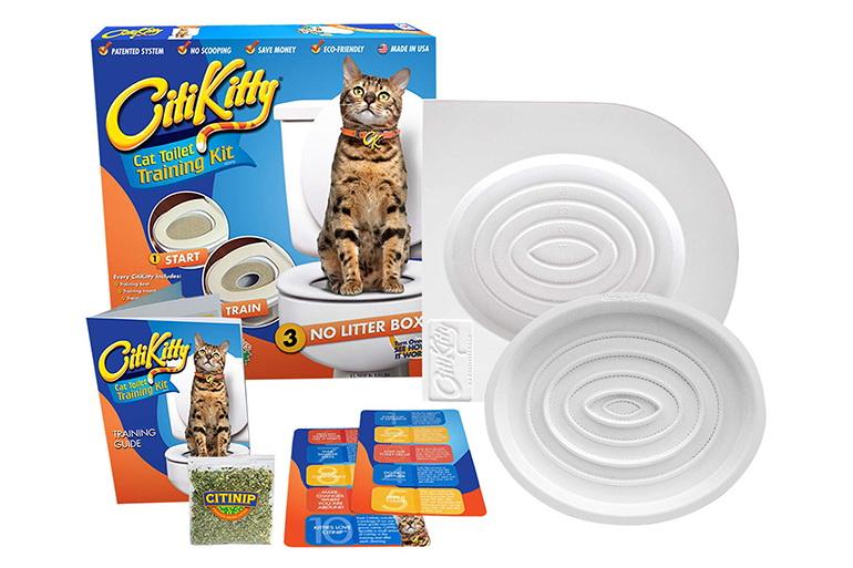 Набор для приучения кота к унитазу