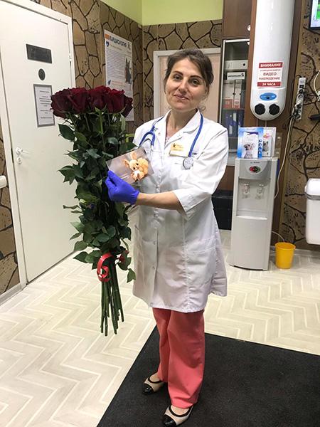 Благодарность от пациентов Кургановой Марине Юрьевне.
