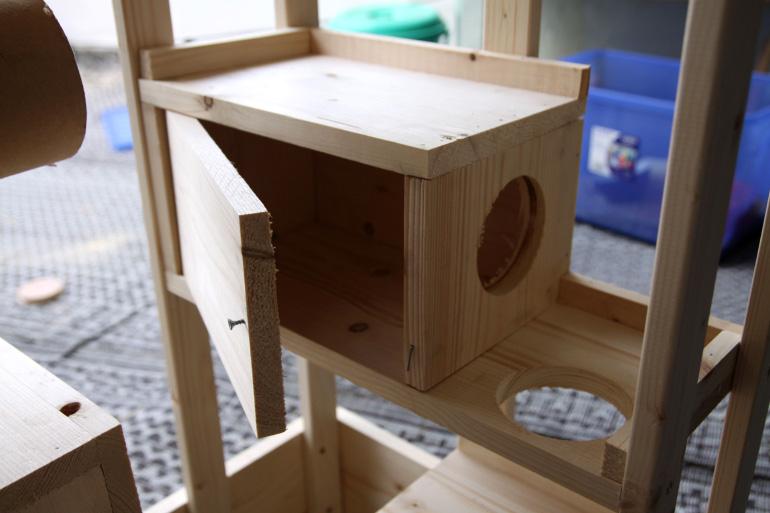 Строительство домика для шиншиллы