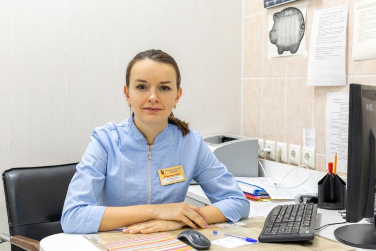 Немеш Виктория Николаевна. Ветеринарный врач, терапевт, врач-УЗИ, гастроэнтеролог, эндокринолог, заведующая терапевтическим отделением клиники Беланта-Щербинка.